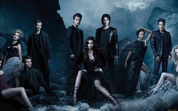 actors, the vampire diaries, the series, season 4