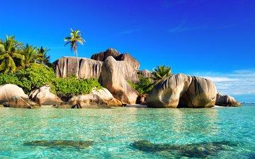 море, отдых, остров, тропики, сейшелы