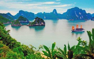 море, тропики, вьетнам, халонг