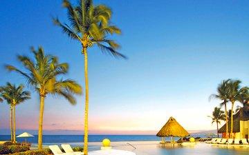 море, пляж, отдых, курорт, тропики