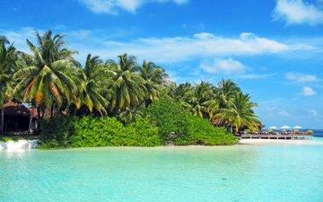 море, пляж, отдых, тропики