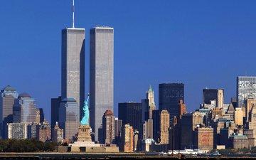 wtc, всемирный торговый центр, twin towers, нью - йорк