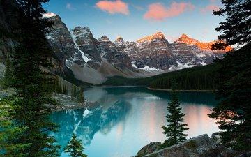 канада, провинция альберта, национальный парк банф