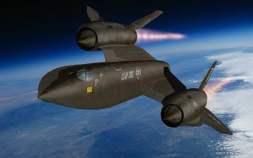 earth, blackbirdk, lockheed sr-71
