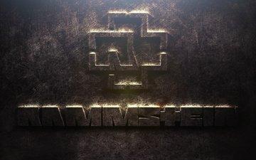 группа, лого, железо, rammstein