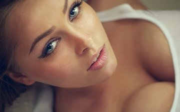 girl, face, maria iordan, beautiful face