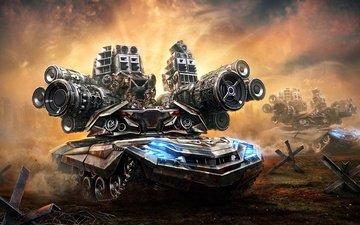 оружие, танк, пушки