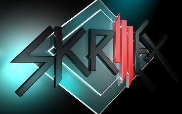 музыка, дом, лого, skrillex, дабстеп