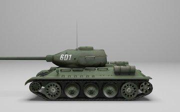 танк, т34 85, т34