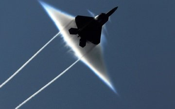 fighter, the sound barrier, raptor, f-22