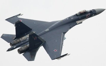the sky, su-35, russian, flanker-t+