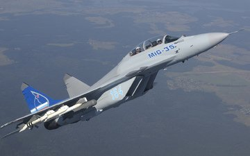 fighter, multipurpose, mig 35d, the russian air force, mig-35d