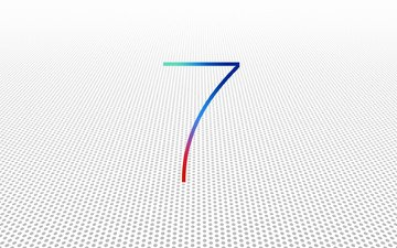 background, white, ios 7, the operating system on the desktop, apple