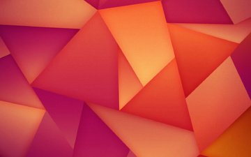 abstraction, triangles, hq wallpaper