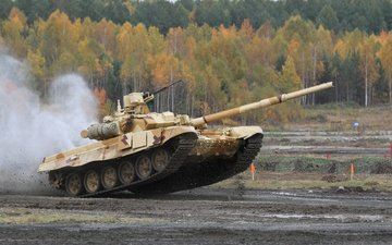 tank, military equipment, uvz, t-90
