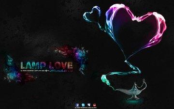 lamp, creative, love, lamp love, lamp of love