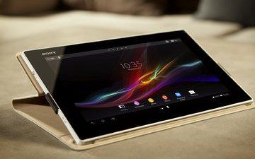 андроид, сони, таблетка, стильный, xperia tablet z, планшет