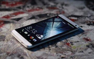 смартфон, htc one, стильный