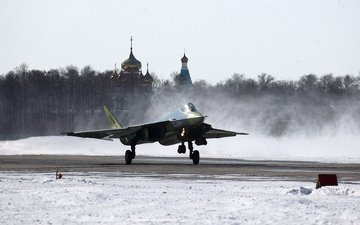 the plane, aviation, russia, multipurpose, bbc, pak fa, t-50
