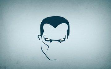 minimalism, super hero, colossus, blo0p