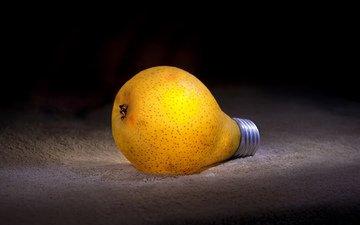 lamp, pear