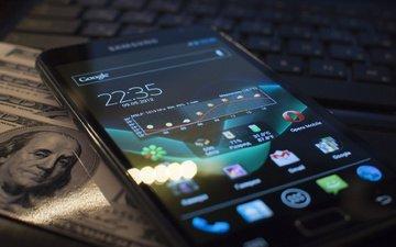 галактика, телефон, андроид, записка, hi-tech, смартфон, самсунг, ice crem sendwich, пряник