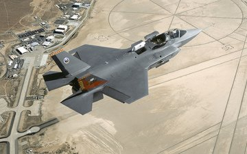 истребитель, lockheed martin, x-35b, edwards afb