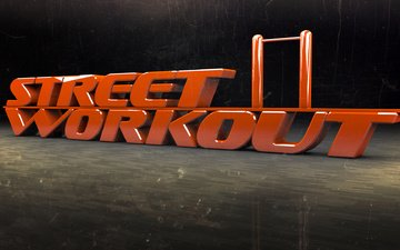 the horizontal bar, street workout