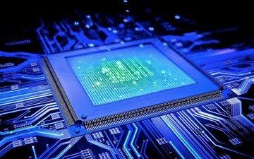 свет, технологии, процессор