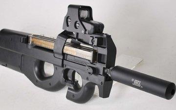 оружие, пистолет, пистолет-пулемёт, fn p90., fn p90, p90, бельгия.
