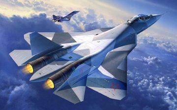 pak fa, t-50, multi-role fighter, promising aviation complex