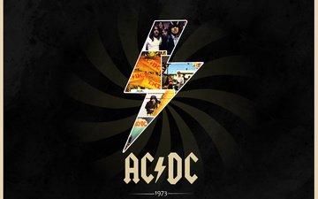 классика, обложки альбомов, acdc, наскальные, 1973 г.р.