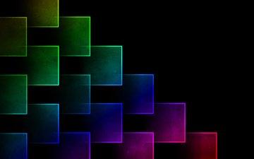 цвета, фон, радуга, кубики, яркость, кубик, gimp, гимп, куб 3d