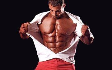 men, muscles, muscle, kachek