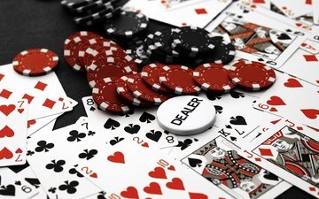 казино, покер, фишки, карты