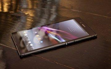 сони, ultra, смартфон, xperia z, triluminos, мобила, настольная