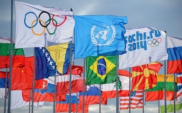 olympics, flags, sochi 2014, olympic games, the countries participating