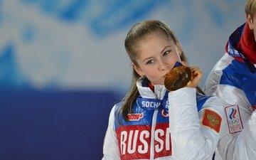 medal, russia, olympics, figure skating, 2014, yulia lipnitskaya, sochi