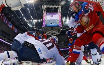 hockey, sochi 2014, the xxii winter olympic games, russia-slovakia