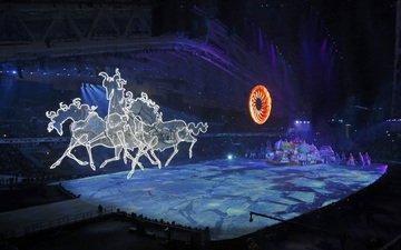сочи 2014, sochi 2014 olympic winter games, церемония открытия xxii зимних олимпийских иг, the opening ceremony of the xxii winter olymp
