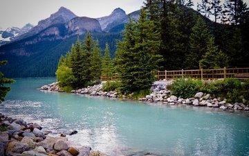 канада, провинция альберта, озеро луиз