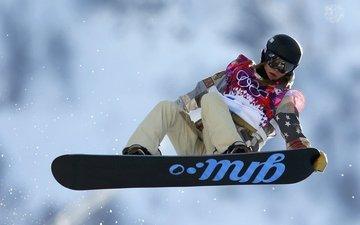 gold medal, sochi 2014, kaitlyn farrington, american, snowboarder