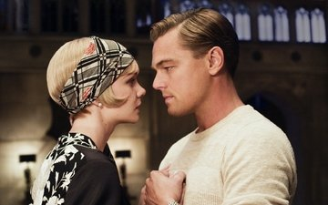 leonardo dicaprio, the great gatsby