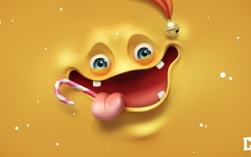 feet, face, apple, hands, language, smile, lollipop, render, melaamory, fun