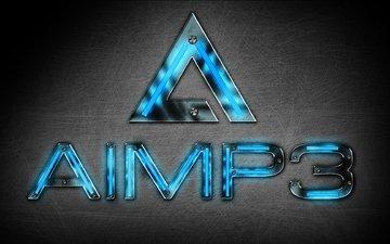 лого, hi-tech, aimp, бесплатный аудиопроигрыватель