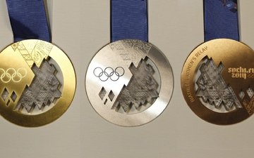 medal, silver, gold, bronze, olympic games, medals, sochi 2014