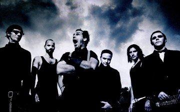 рок, метал, rammstein, тяжелый рок, индастриал метал, тилль линдеманн, рихард круспе, пауль ландерс, оливер ридель, кристоф шнайдер, кристиан лоренц, наскальные