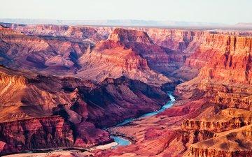 горы, скалы, пейзаж, grand canyon, flagstaff, штат аризона