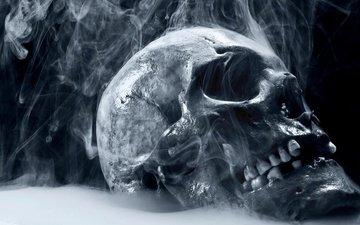 дым, череп