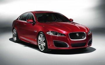 фон, красный, ягуар, шикарный, бордовый, ягуа́р, xfr, _jaguar xfr_2011_